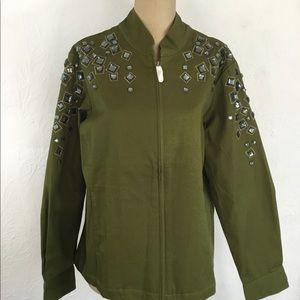 VTG Bob Mackie Wearable Art Jacket NWOT